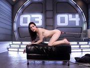 Анальный секс с искусственным членом