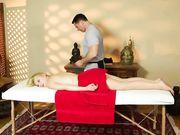Минет в кабинете массажа