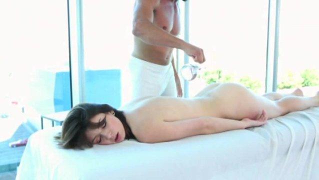 Секс оргазм с массажистом
