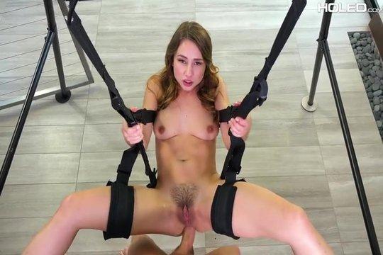 Порно на качелях фото