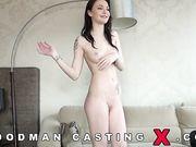 Групповой секс с Belle Claire на порно кастинге