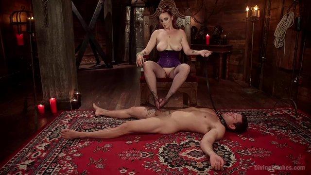 Госпожа заставила рабов трахаться #7