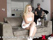 Samantha Rone кончает с двумя парнями на кастинге Woodman