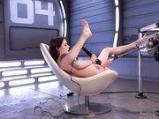 Anna de Ville пробует на вкус киску после оргазма
