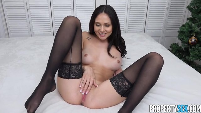 Www секси в черных чулках